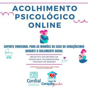 acolhimento psicológico online para mães cardiopatas